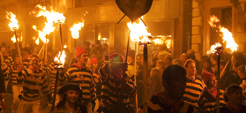 Lewes Bonfire Night